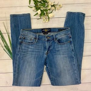 Lucky Sweet n Straight Jeans - sz 4